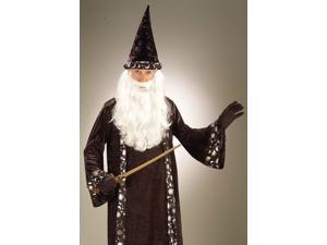 Fantasy Wizard Dumbledore Adult Mens Halloween Costume