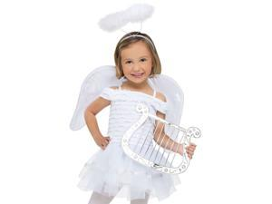 Kids Toddler Girls Christmas Angel Halloween Costume