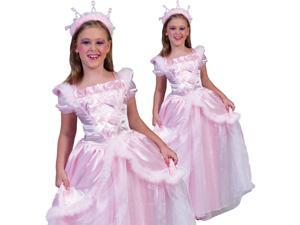 Kids Girls Pink Princess Dress Halloween Costume