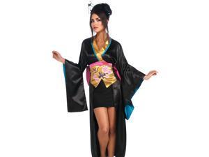Sexy Womens Japanese Geisha Kimono Halloween Costume