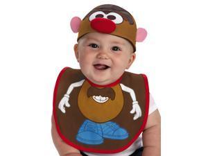 Infant Baby Mr Potato Head Costume Hat & Bib