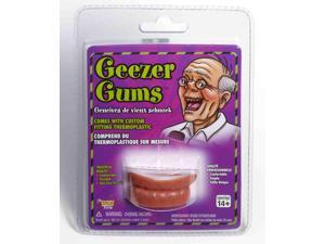 Funny Adult Fake Old Man Geezer Gums Costume Accessory