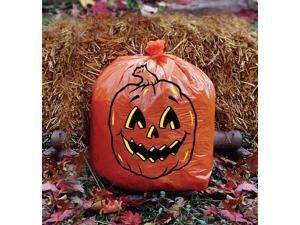 Jack O Lantern Pumpkin Halloween Decoration Leaf Lawn Bag