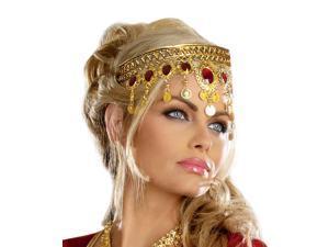 Medieval Princess Genie Harem Belly Dancer Costume Crown