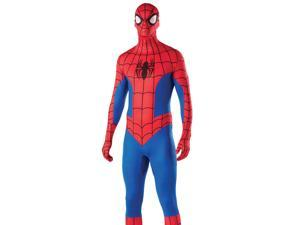 Adult Mens Spiderman 2nd Skin Zentai Halloween Costume