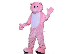 Deluxe Pig Mascot Adult Costume Standard