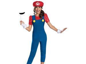 Tween Super Mario Brothers Girls Halloween Costume