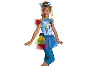 Girls Rainbow Dash My Little Pony Toddler Halloween Costume