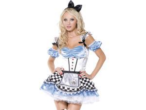 Womens Sexy Alice in Wonderland Halloween Costume