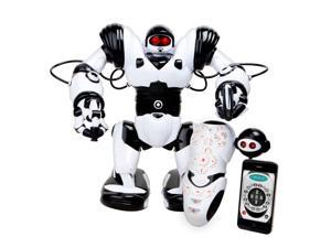 WowWee Robosapien X Humanoid Toy Robot with Remote Control - 10 Year Anniversary Special Edition with IR Dongle for iOS