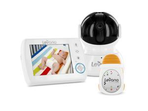 Levana Astra Digital Baby Video Monitor with LEVANA Powered by Snuza Oma Portable Baby Movement Monitor System