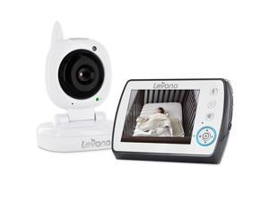 "Levana Ayden 3.5"" Digital Video Baby Monitor with Night Vision Camera, Temperature Monitoring, Two-way Intercom and Zoom"