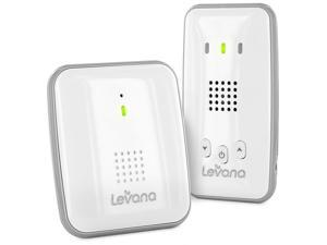 Levana Alix Audio Baby Monitor with 8 Hour Rechargeable Battery, 1000ft ClearVu Private Signal and Out of Range Alert