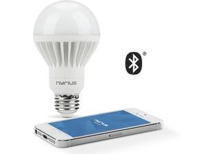 Nyrius Wireless Smart LED Light Bulb for Smartphone, iOS & Android App Controls On/Off, Scheduling, Dimming