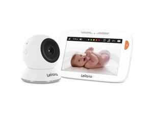 "Levana® Shiloh™ 5"" Touchscreen High Definition Video Baby Monitor with Feeding and Temperature Alerts"