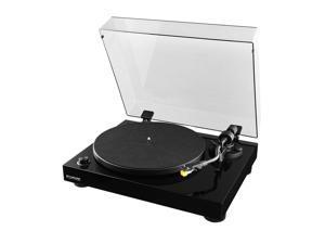 Fluance High Fidelity Vinyl Turntable Record Player with Premium Cartridge, Diamond Stylus, Preamp, Wood Cabinet