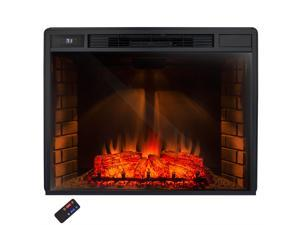 "AKDY AK-NEF05-33 33"" Electric Freestanding Fireplace w/ Log Set and Remote Control"