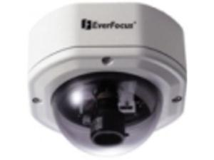 EVERFOCUS EHD350/H-3 1/3 HI-RES COLOR RUGGED DOME CAMERA COLOR,520TVL,2.9 - 10MM