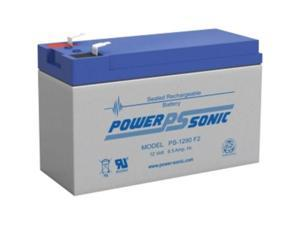 POWER-SONIC PS-1290F2 12 VOLT 9 AMP BATTERY