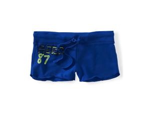 Aeropostale Womens Live Love Dream Athletic Sweat Shorts 488 XS