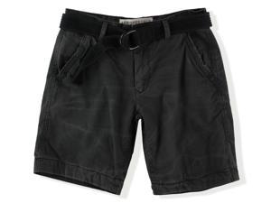 Aeropostale Mens Classic Belted Casual Chino Shorts 008 27