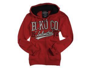 Ecko Unltd. Mens Arm Down Logo Hoody Zip Up Hoodie Sweatshirt truekord XS