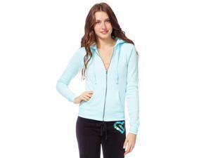 Aeropostale Womens Heathered Fleece Hoodie Sweatshirt 497 XS