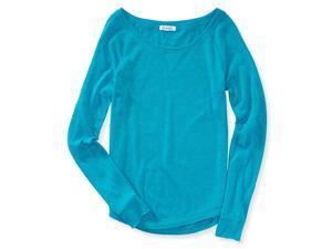 Aeropostale Womens Solid Raglan Sweatshirt 435 S