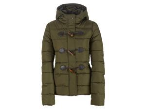Aeropostale Womens Toggle Puffer Jacket 185 XL