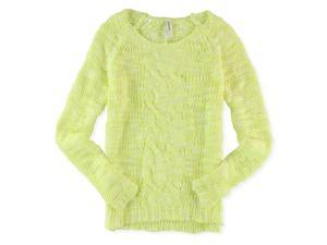 Aeropostale Womens Cable Knit Pullover Sweater 768 S