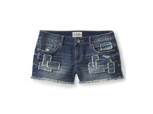 Aeropostale Womens Patchwork Casual Mini Shorts 962 1/2