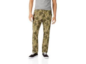 Aeropostale Mens Slim Straight Camo Casual Chino Pants 378 31x32