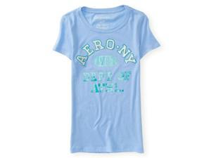 Aeropostale Womens Ny Dept Of Athl Embellished T-Shirt 442 XS