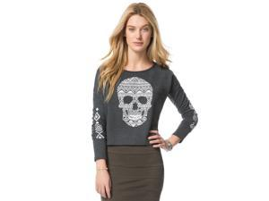 Aeropostale Womens Southwest Skull Sweatshirt 079 L