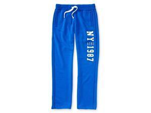 Aeropostale Womens Classic Fit Athletic Sweatpants 433 M/32