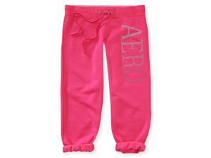 Aeropostale Womens Vert rhinestone Athletic Sweatpants 677 M/24