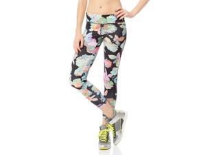 Aeropostale Womens Floral Active Athletic Track Pants 001 S/28