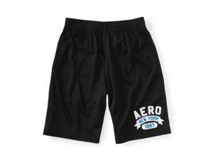 Aeropostale Mens Aero New York Basketball Athletic Walking Shorts 001 S