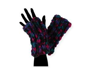 American Rag Womens Cable knit Gloves greycombo One Size