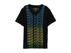 GUESS Mens Fiesta Forever Graphic T-Shirt jetblack XL