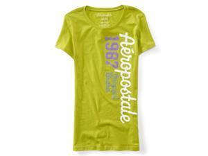Aeropostale Womens 1987 Ss Graphic T-Shirt 311 XS