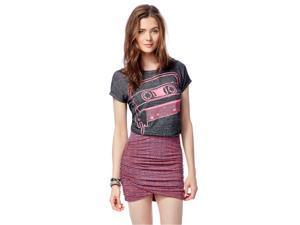 Aeropostale Womens Batik Bodycon Mini Skirt 870a L