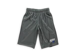 Aeropostale Mens Solid Color Pocketed Athletic Walking Shorts 032 XS