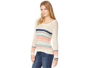 Aeropostale Womens Fair Isle Knit Pullover Sweater 262 XL