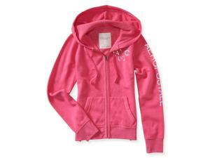 Aeropostale Womens NY 87 Hoodie Sweatshirt 662 L