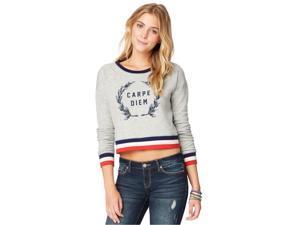 Aeropostale Womens Carpe Diem Pullover Sweater 052 XS