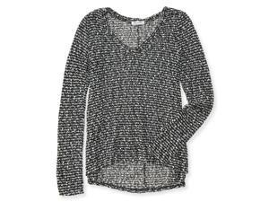 Aeropostale Womens Sheer Textured Pullover Sweater 001 L