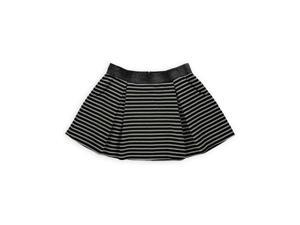 Aeropostale Womens Aria Metallic Stripe Pleated Skirt 001 XL