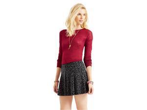 Aeropostale Womens Animal Print Mini Skirt 001 XL