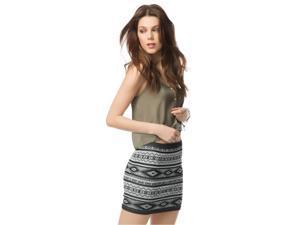Aeropostale Womens Southwest Body Con Mini Skirt 001 XL